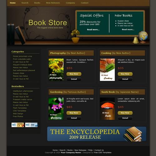 templatemo_086_book_store