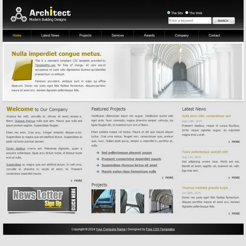 templatemo_141_architect