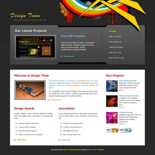 templatemo_167_design_team
