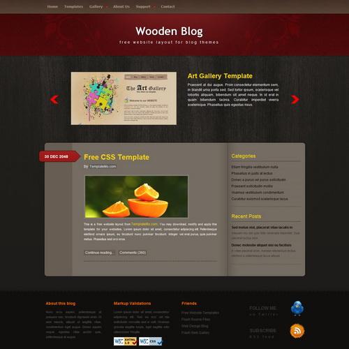 templatemo_171_wooden_blog