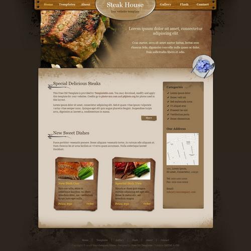 templatemo_190_steak