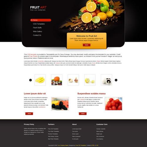 templatemo_199_fruit_art