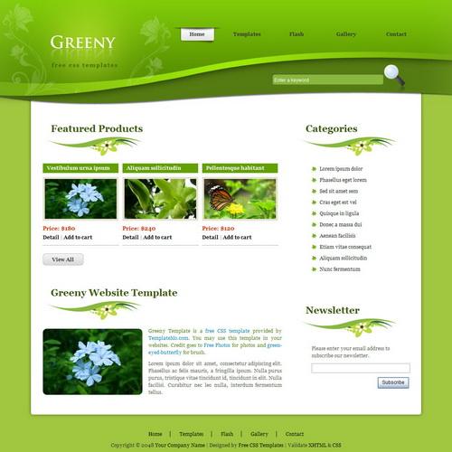 templatemo_218_greeny