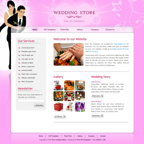 templatemo_224_wedding_store
