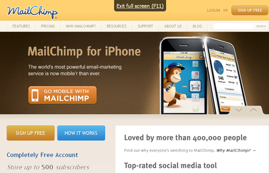 Most Attractive (39) Corporate Website Designs Of Top Brands 16