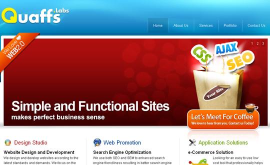 Most Attractive (39) Corporate Website Designs Of Top Brands 25