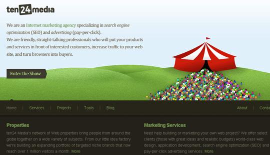 Most Attractive (39) Corporate Website Designs Of Top Brands 4
