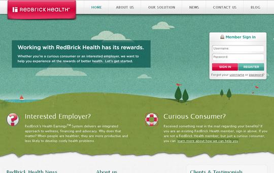 Most Attractive (39) Corporate Website Designs Of Top Brands 32