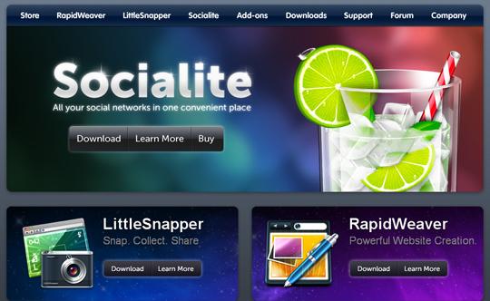 Most Attractive (39) Corporate Website Designs Of Top Brands 33