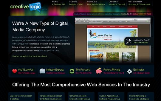 Most Attractive (39) Corporate Website Designs Of Top Brands 38