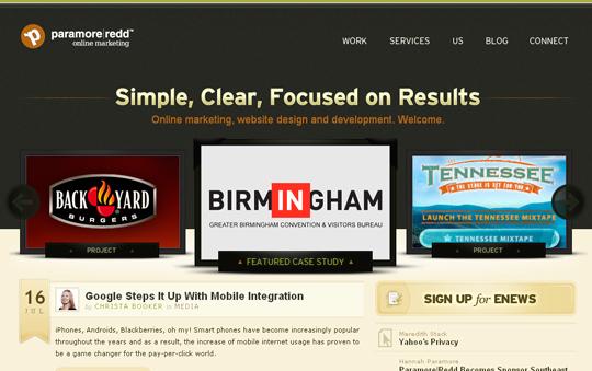 Most Attractive (39) Corporate Website Designs Of Top Brands 39