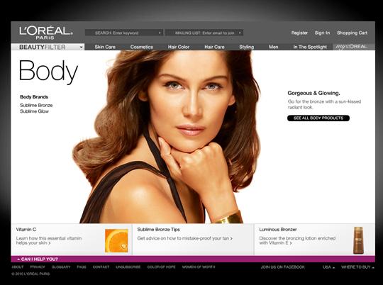Most Attractive (39) Corporate Website Designs Of Top Brands 9