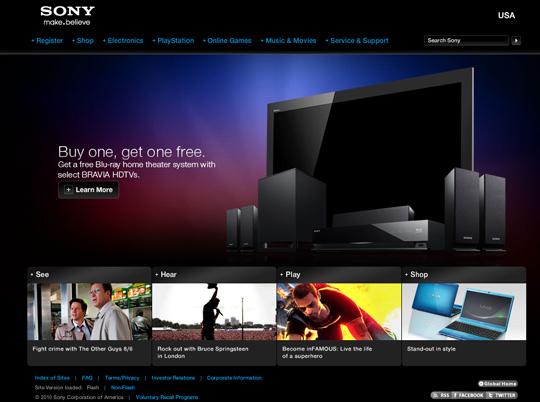 Most Attractive (39) Corporate Website Designs Of Top Brands 5