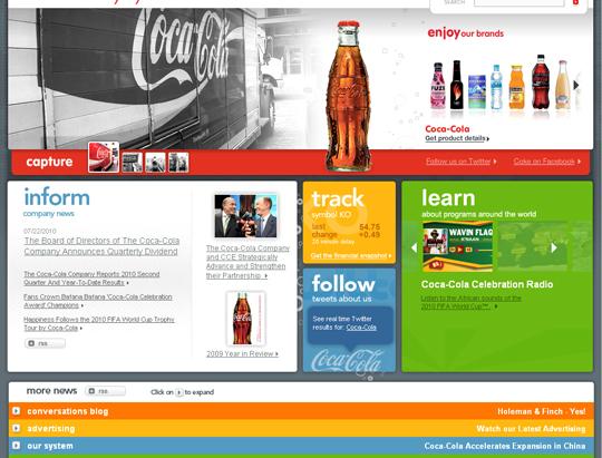 Most Attractive (39) Corporate Website Designs Of Top Brands 10