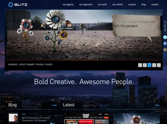 Most Attractive (39) Corporate Website Designs Of Top Brands 11