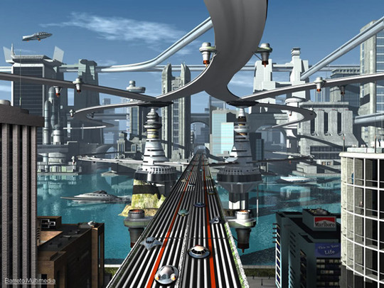 World Of Fantasy And Imagination Which Depict Future Cities (Dreamy Artworks) 17