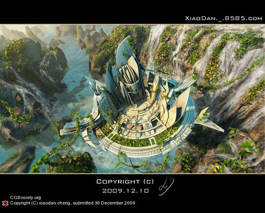 World Of Fantasy And Imagination Which Depict Future Cities (Dreamy Artworks) 18