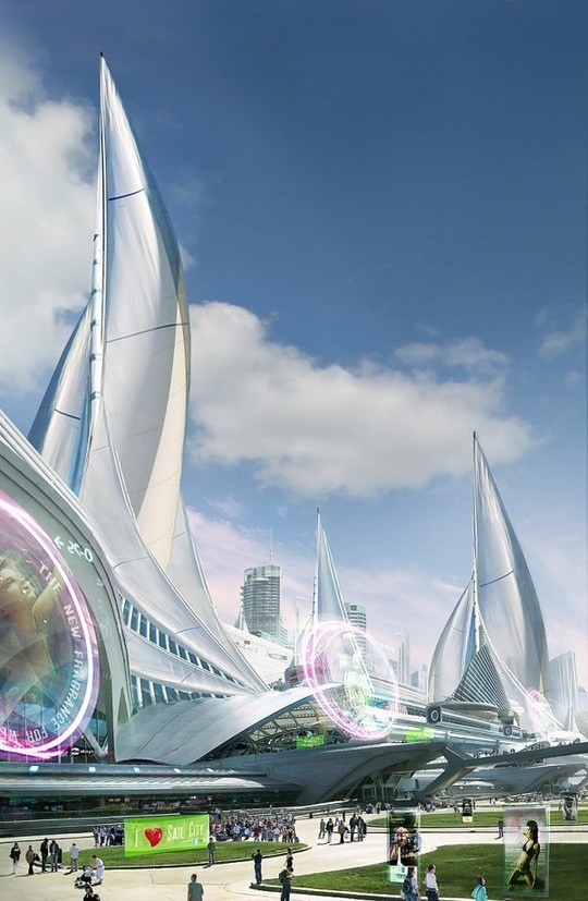 World Of Fantasy And Imagination Which Depict Future Cities (Dreamy Artworks) 7
