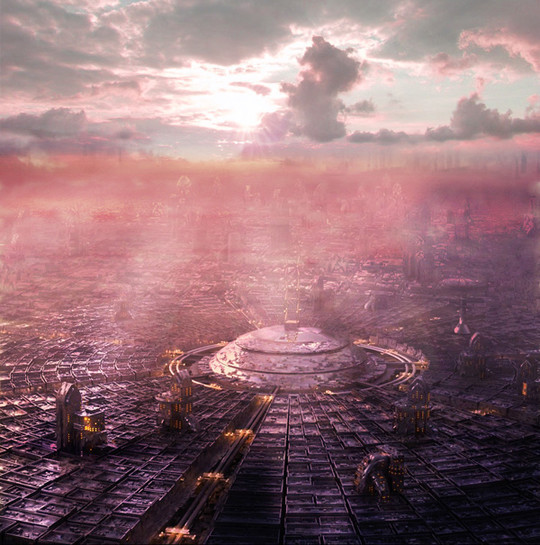 World Of Fantasy And Imagination Which Depict Future Cities (Dreamy Artworks) 23