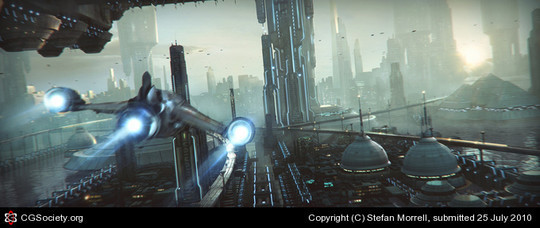 World Of Fantasy And Imagination Which Depict Future Cities (Dreamy Artworks) 12