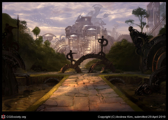 World Of Fantasy And Imagination Which Depict Future Cities (Dreamy Artworks) 29