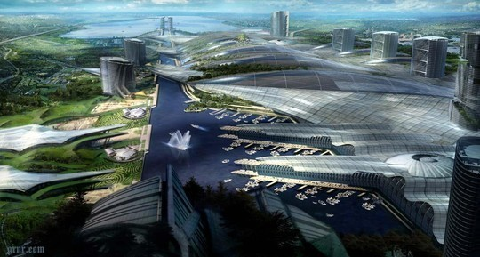 World Of Fantasy And Imagination Which Depict Future Cities (Dreamy Artworks) 30