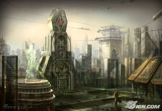 World Of Fantasy And Imagination Which Depict Future Cities (Dreamy Artworks) 31