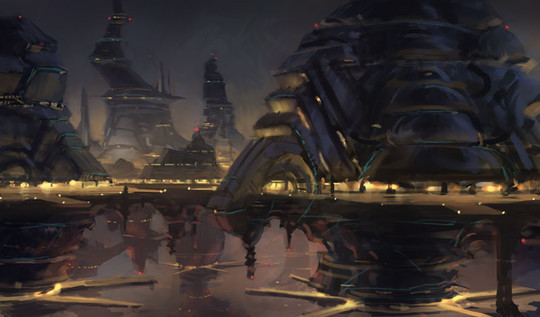 World Of Fantasy And Imagination Which Depict Future Cities (Dreamy Artworks) 32