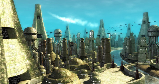 World Of Fantasy And Imagination Which Depict Future Cities (Dreamy Artworks) 34