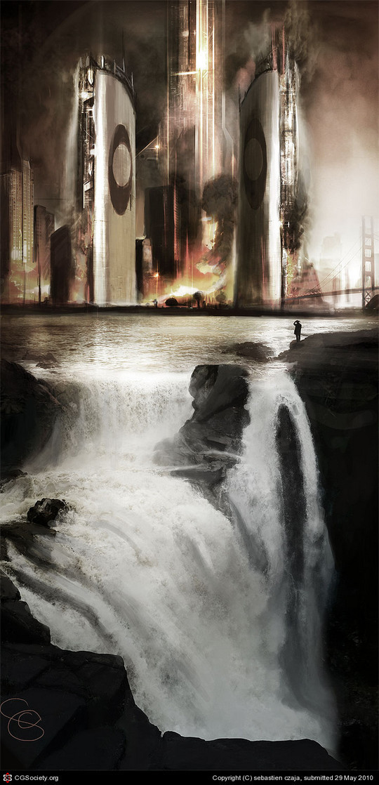 World Of Fantasy And Imagination Which Depict Future Cities (Dreamy Artworks) 35