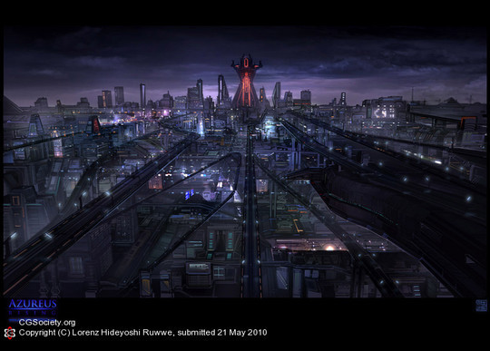 World Of Fantasy And Imagination Which Depict Future Cities (Dreamy Artworks) 36