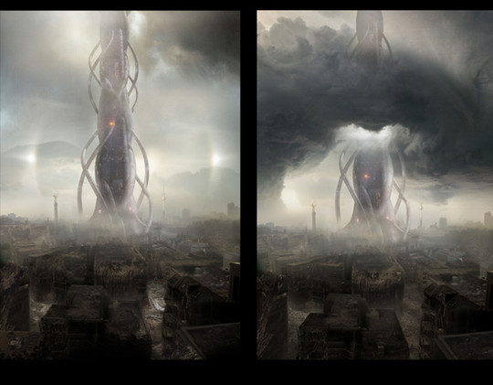 World Of Fantasy And Imagination Which Depict Future Cities (Dreamy Artworks) 37