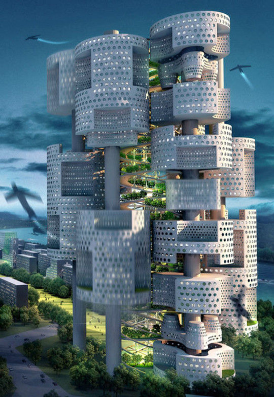 World Of Fantasy And Imagination Which Depict Future Cities (Dreamy Artworks) 8