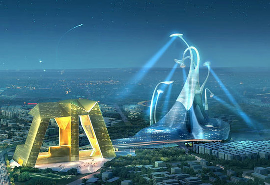 World Of Fantasy And Imagination Which Depict Future Cities (Dreamy Artworks) 10