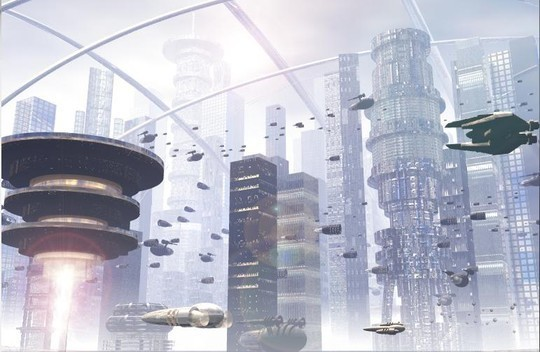 World Of Fantasy And Imagination Which Depict Future Cities (Dreamy Artworks) 39