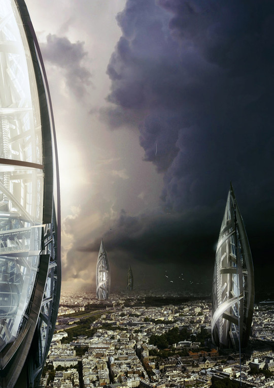 World Of Fantasy And Imagination Which Depict Future Cities (Dreamy Artworks) 4