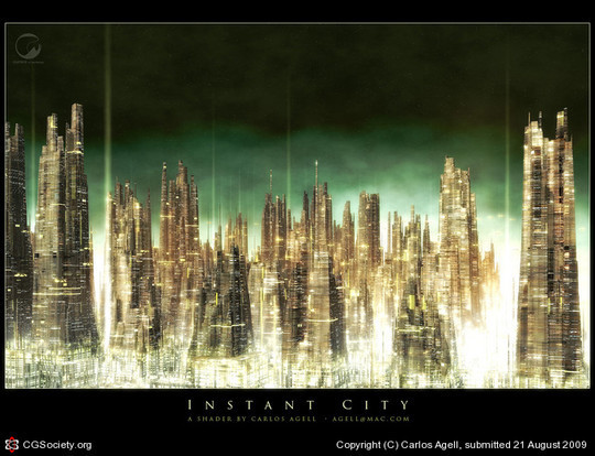 World Of Fantasy And Imagination Which Depict Future Cities (Dreamy Artworks) 15