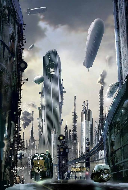 World Of Fantasy And Imagination Which Depict Future Cities (Dreamy Artworks) 16