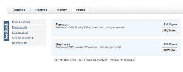 Backup Data Stored On Email Servers And Online Social Networks With Backupify 7