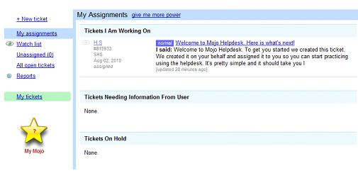 Mojo Helpdesk Performs Best As Online Ticket-Based HelpDesk And Issue Tracking App 4
