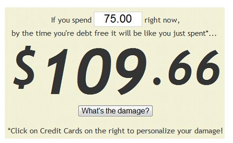 Figure Out How Much An Item Will Cost You If Purchased Through Credit Card 4