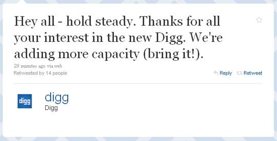 Big Day At Digg, New Digg (v4) Launched Today 1