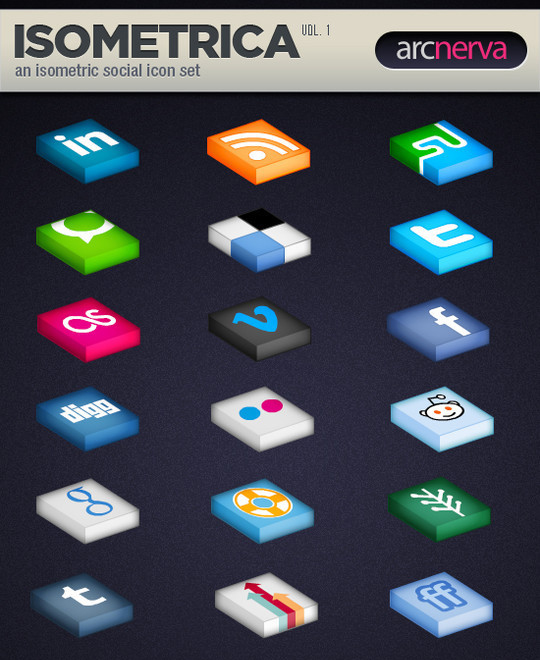 The Robust Collection Of (50) Mindblowing Icon Sets For Your Next Design 33