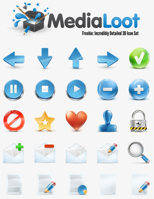 The Robust Collection Of (50) Mindblowing Icon Sets For Your Next Design 8