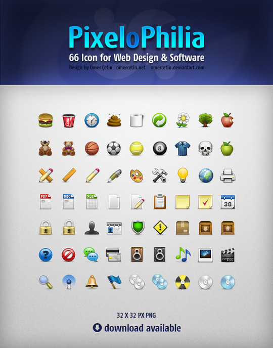 The Robust Collection Of (50) Mindblowing Icon Sets For Your Next Design 44
