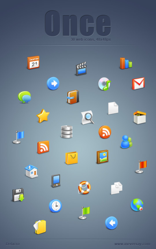 The Robust Collection Of (50) Mindblowing Icon Sets For Your Next Design 48