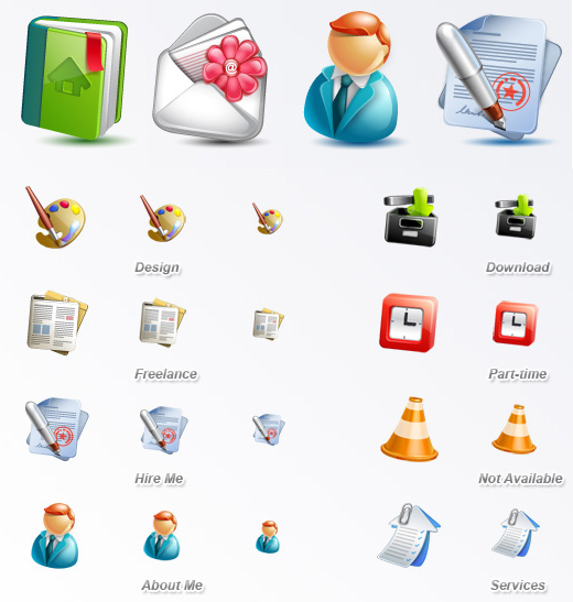 The Robust Collection Of (50) Mindblowing Icon Sets For Your Next Design 21