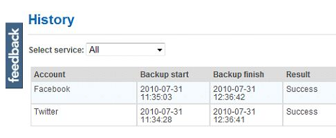 Backup Data Stored On Email Servers And Online Social Networks With Backupify 6
