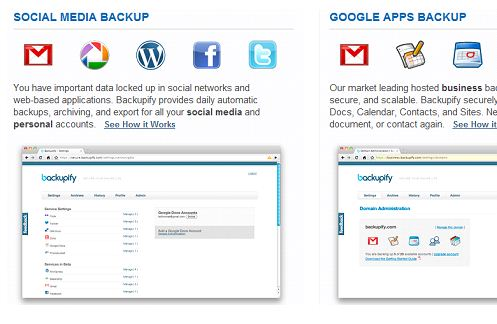 Backup Data Stored On Email Servers And Online Social Networks With Backupify 47
