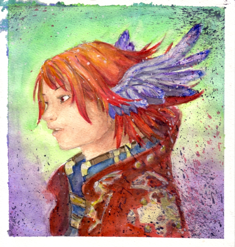 40 Extremely Mesmerizing Examples Of Traditional & Digital Watercolor Painting 7